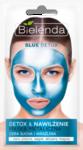 BLUE DETOX Маска с содержанием металлов детоксикационного действия для сухой и чувствительной кожи. Маски хватает на 2-3 раза